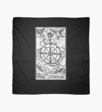 Wheel of Fortune Tarot Card - Major Arcana - fortune telling - occult Scarf