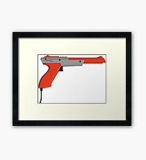 Duck Hunt Zapper Framed Print