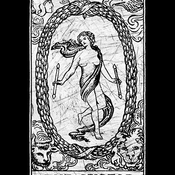 La Carta del Tarot Mundial - Arcanos Mayores - adivinación - oculta de createdezign