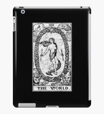 The World Tarot Card - Major Arcana - fortune telling - occult iPad Case/Skin