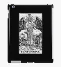 Temperance Tarot Card - Major Arcana - fortune telling - occult iPad Case/Skin