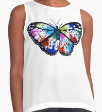 Splatterfly Paint Butterfly  Contrast Tank