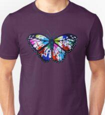 Splatterfly Paint Butterfly  T-Shirt