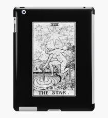 The Star Tarot Card - Major Arcana - fortune telling - occult iPad Case/Skin