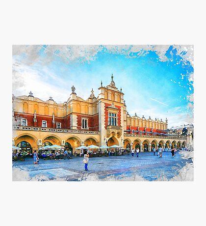 Cracow art 15 #cracow #krakow #city Photographic Print