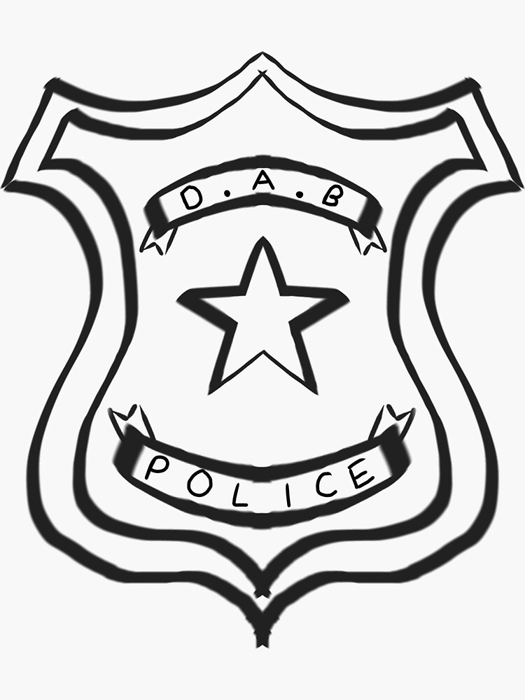 Dab Police Badge by BrinniC