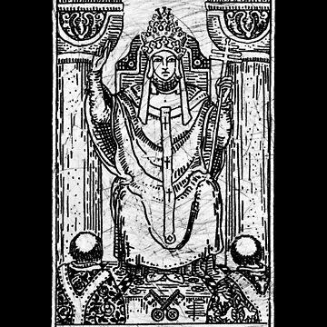 La carta del Tarot Hierofante - Arcanos Mayores - adivinación - oculta de createdezign
