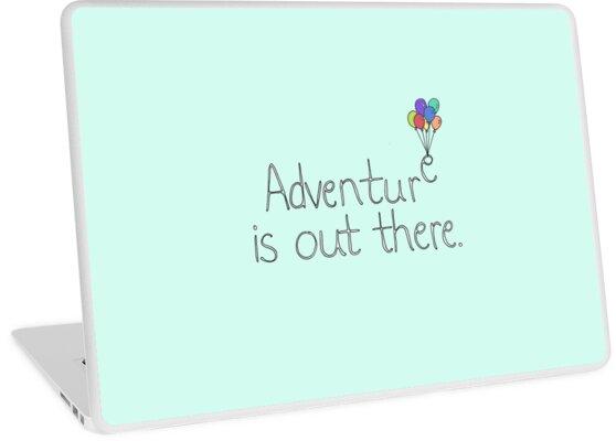 «La aventura está ahí fuera» de Tiny People Type