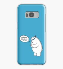 Ice Bear Believes In You - We Bare Bears Cartoon Samsung Galaxy Case/Skin