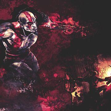 Kratos - God of War by RoninDG