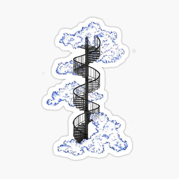 Tiny Stairway to Heaven Sticker