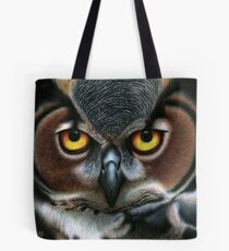 Animalia: Virginianus (Great Horned Owl) Tote Bag