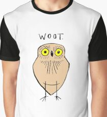 Woot Says the Owl Graphic T-Shirt