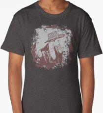 Cowboy Smoking Hat :D Cool Grunge Vintage T-Shirt Long T-Shirt