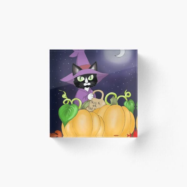Super Magical Halloween Ferdz Acrylic Block