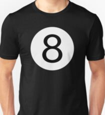 One And Only - Be Unique Be Original - Black 8 Ball Pool Conceptual Design T-Shirt