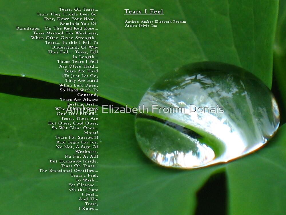 Tears I Feel Version 2 by Amber Elizabeth Fromm Donais