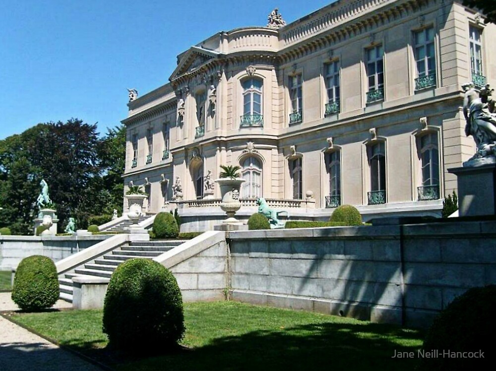 The Elms, Newport Mansions, Rhode Island by Jane Neill-Hancock
