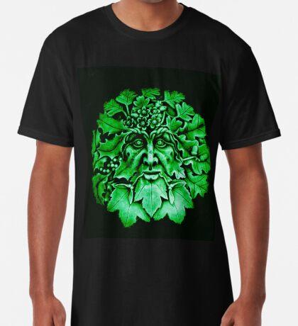 Grüner Mann Longshirt