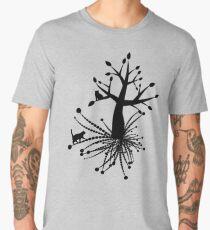 Cat's Romanticism Men's Premium T-Shirt