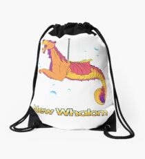 Sea Dragon (Sunset) Drawstring Bag