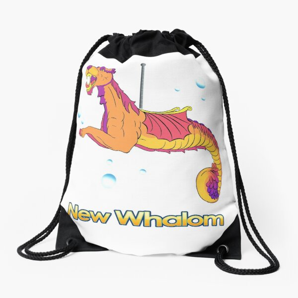Sea Dragon (Sunset) Drawstring Bag
