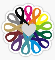 Awareness Ribbons Profits for Charity (please read description!!) Sticker