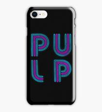 Pulp - Neon Logo iPhone Case/Skin