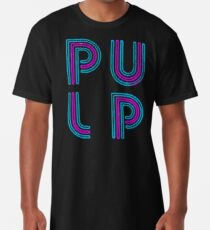 Camiseta larga Pulp - Logotipo de neón
