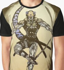 Cyber Otter Super Soldier Graphic T-Shirt