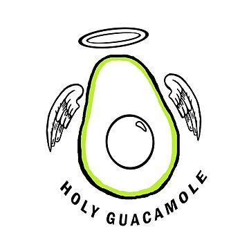 Holy Guacamole Avocado  by wonnie