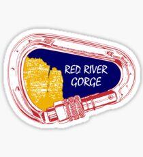 Red River Gorge Kletterkarabiner Sticker