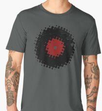 Grunge Vinyl Records Retro Vintage 50's Style Men's Premium T-Shirt