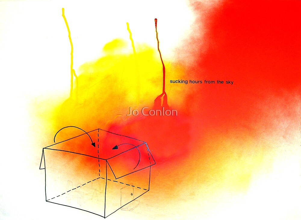 Sucking hours from the sky by Jo Conlon