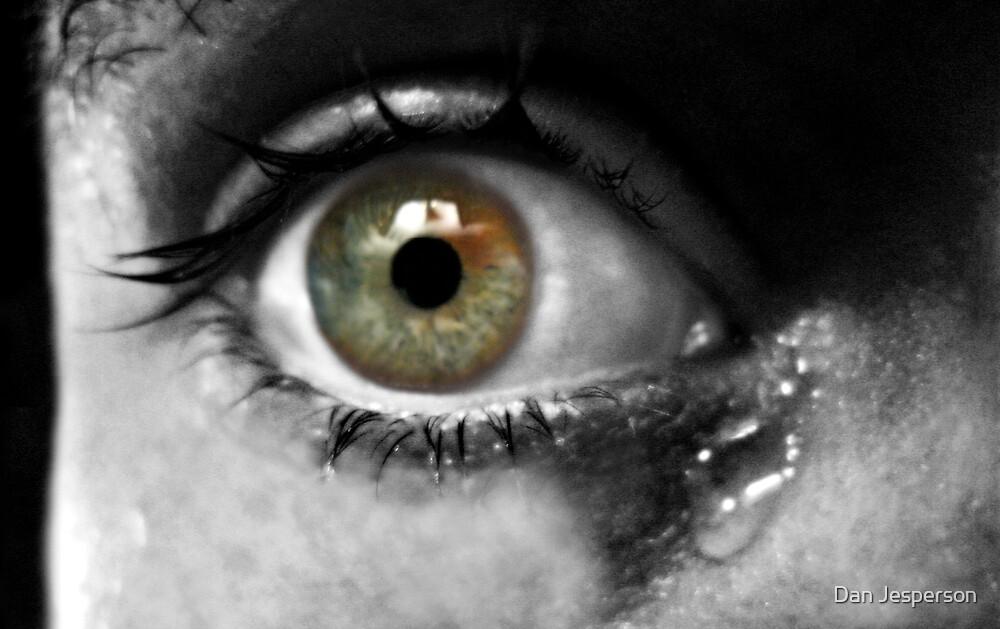 Terrified Eye by Dan Jesperson
