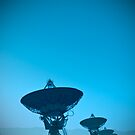 VLA (Very Large Array)  (Alan Copson (C) 2007) by Alan Copson