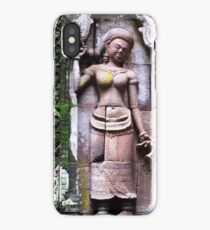 Woman in Stone  iPhone Case