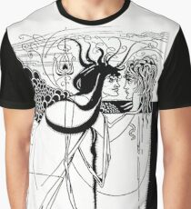 """HD  """"I kissed your mouth"""" from """"Salomé"""" by Aubrey Beardsley (1893) Graphic T-Shirt"""