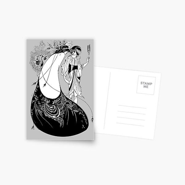 POSTCARD CARTE POSTALE DESIGN ALEX// THE CAT ELEPHANT CHAT