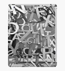 Alphabet Jumble  iPad Case/Skin