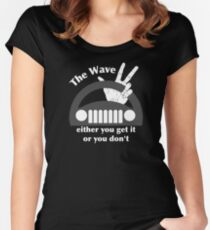 Jeep Wave Women's Fitted Scoop T-Shirt