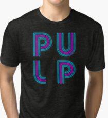 Pulp - Neon Logo Tri-blend T-Shirt