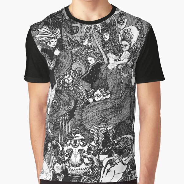 HD The Cave ; by Aubrey Beardsley (1896) Graphic T-Shirt