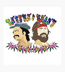 cheech & chong full High Photographic Print
