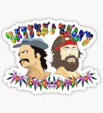cheech & chong full High Sticker