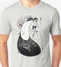 "HD ""The Peacock Skirt"" from ""Salomé"" by Aubrey Beardsley Unisex T-Shirt"