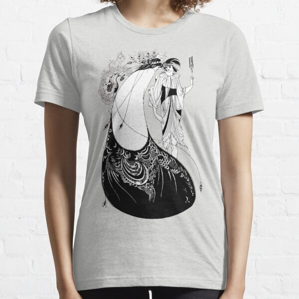 """HD. The Peacock Skirt; from """"Salomé"""" by Aubrey Beardsley Essential T-Shirt"""