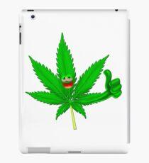 Cool marijuana iPad Case/Skin
