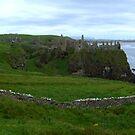 NI - NorthEast coastline ... Dunluce Castle Ruins by SNAPPYDAVE