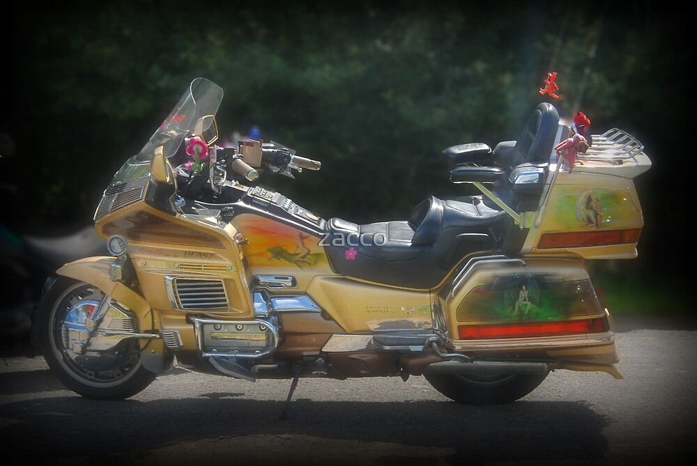 golden goldwing by zacco